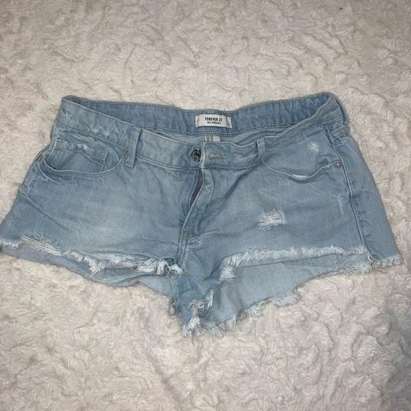 Forever 21 Pants - Forever 21 light Jean shorts